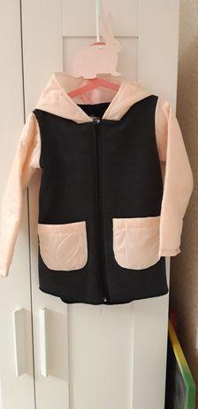 Świetna bluza kurtka parka 110/116