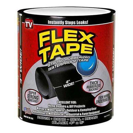 Fita Cola Preta Flex Tape