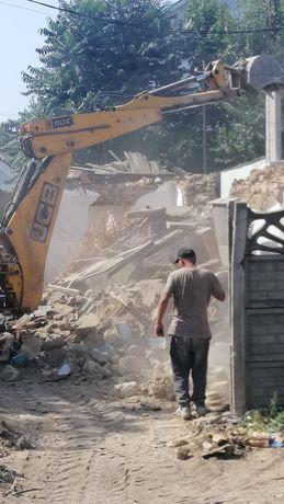 Демонтаж. Снос дачных домов, сараев хоз. построек, Демонтажные работы