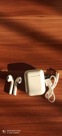 Słuchawki bezprzewodowe plus powerbank i12