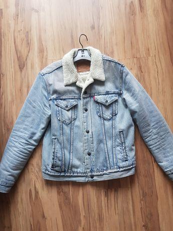 Levis sherpa M zalando kurtka jeans