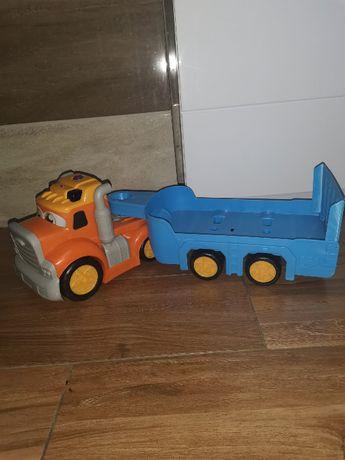 Auto z przyczepką Dickie Toys