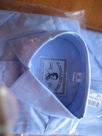 Школьная рубашка короткий рукав Kavaler Kid, р. 30 (134-140 см)