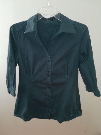 Ciemno-turkusowa koszula