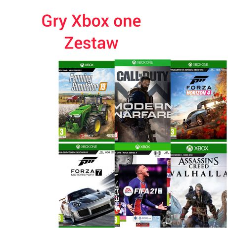 Gry Xbox one,Zestaw 20 gier,Farming Simulator 19,Tony Hawk, Ufc4