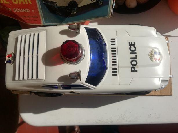 Carro antigo polícia