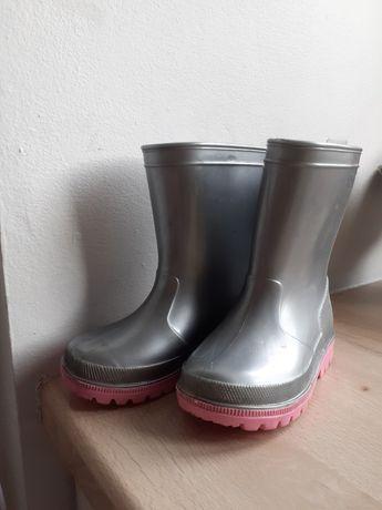 Kalosze Coccodrillo dla dziewczynki r. 24 +  gratis sandały