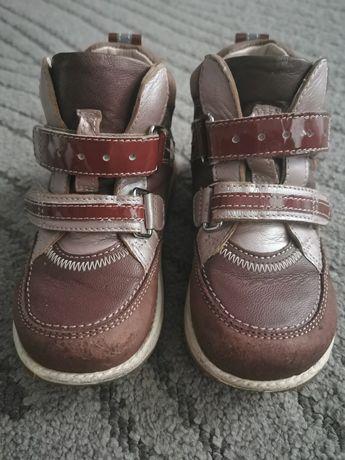 Buty trzewiki półbuty Memo Polo bordo