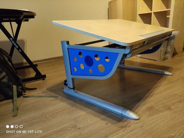 Regulowane biurko dziecięce Kettler Logo Plus Blat Klon