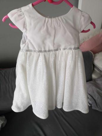Przecudowna sukieneczka dla małej księżniczki 80