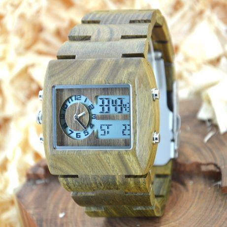 Oryginalny zegarek męski Drewniany Bobo Bird Galaxy Note smartwatch