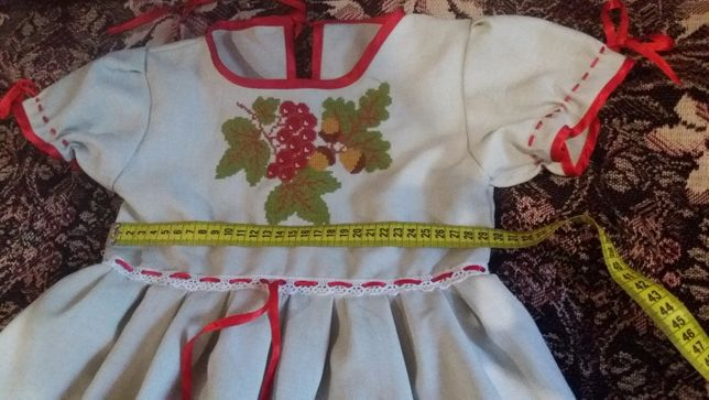 вышиванки платья для девочек