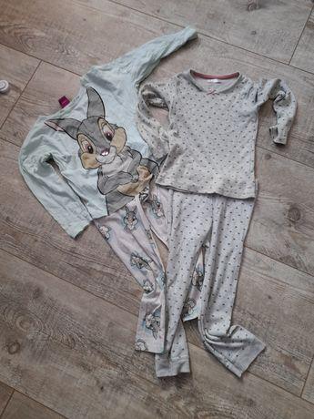 2 komplety piżam 110-116