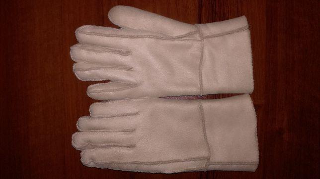 Rękawiczki skórzane ocieplane