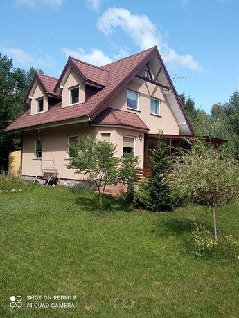 Dom w otulinie lasu dla ludzi szukających spokoju