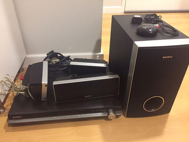 DVD E Sistema de Som Sony