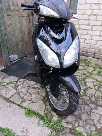 Запчасти на китайский скутер мопед вайпер шторм