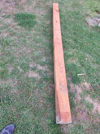 Belka drewniana, krokwia, murłata