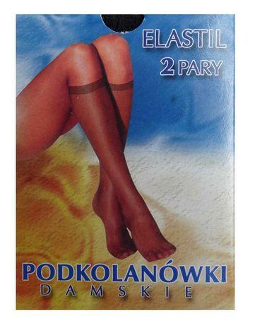 Podkolanówki elastil(2 pary) Pakiet 10 opakowań- od producenta