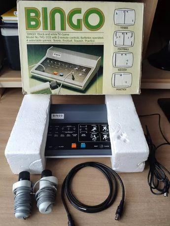 BINGO TVG 206 konsola retro commodore 1977