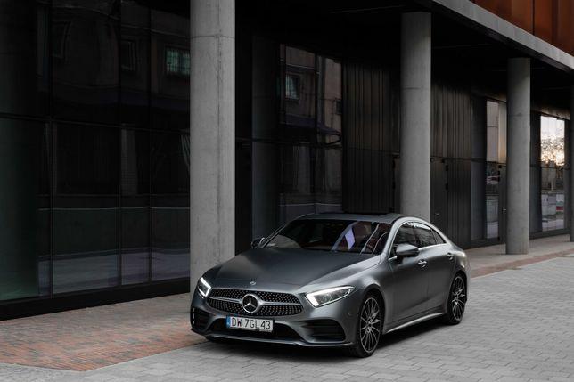 Auto do ślubu, luksusowy, 340-konny Mercedes-Benz CLS z pakietem AMG