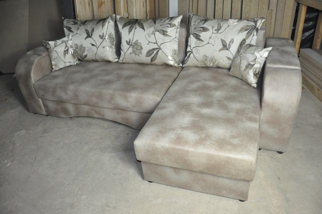 """Угловой диван """" Лилия """" для ежедневного сна ! Большой выбор расцветок!"""