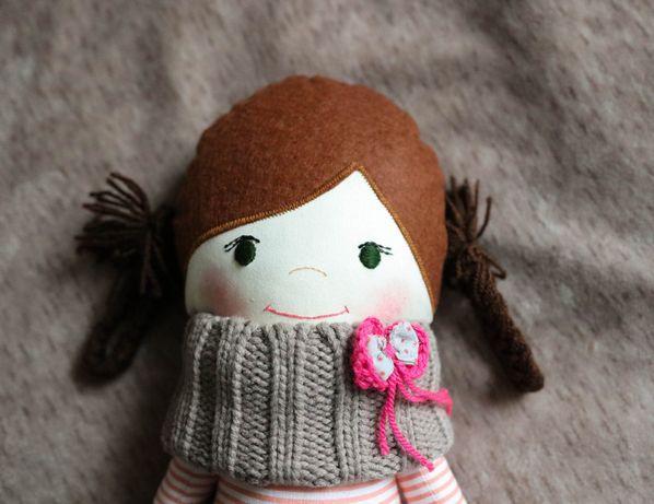 lalka szmaciana handmade lalka eko