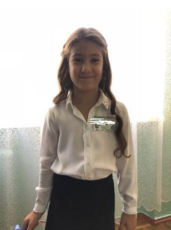 Школьная блузка 6-7 Benetton