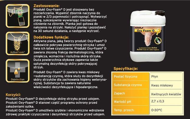 Oxy-Foam D Aktywna piana do do codziennej higieny strzyków 10kg