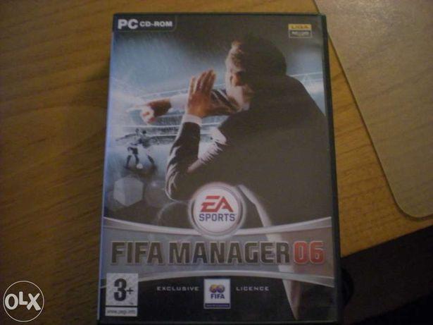 Jogo original para pc fifa manager 2006