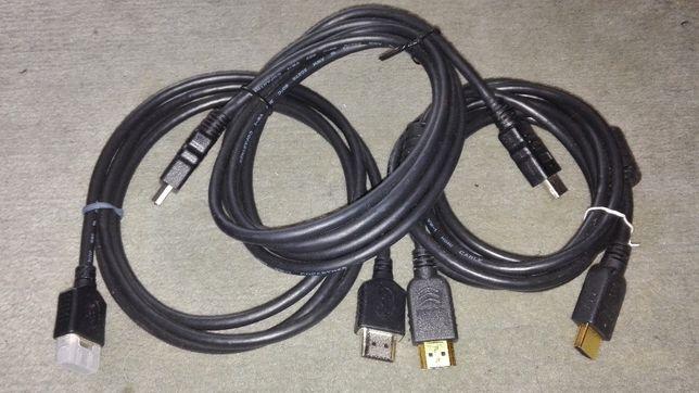 Kable HDMI - 1,5m długości
