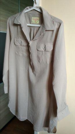 Długa bawełniana koszula