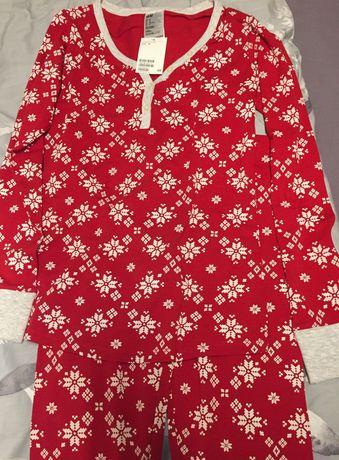 Piżama świąteczna bawełna 95%