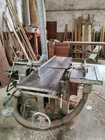 Garlopa desengrossadeira - carpintaria
