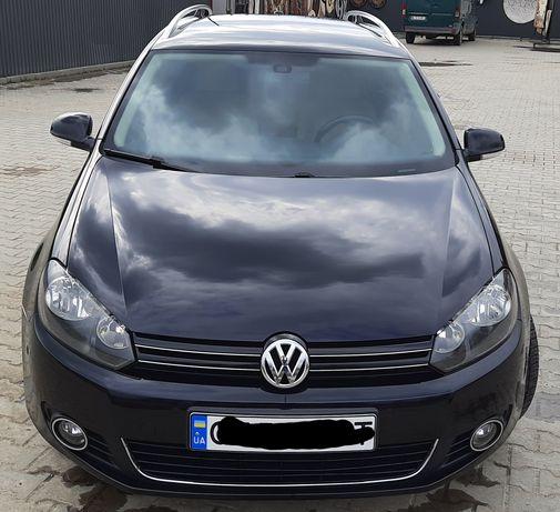 Volkswagen Golf 6 Variant BlueMotion 1.6TDI 7AKПП 105лс(77кв) 2010 год