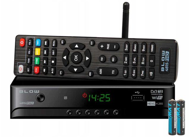 Tuner Dekoder Cyfrowy TV naziemnej DVB-T2 H.265 HEVC FHD USB WIFI DVBT