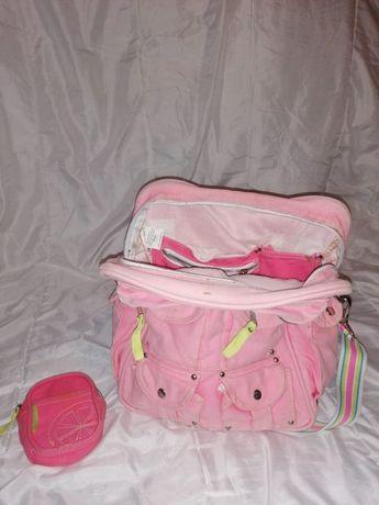 Mochila Escolar com bolsa