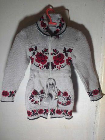 Детская туника свитер.