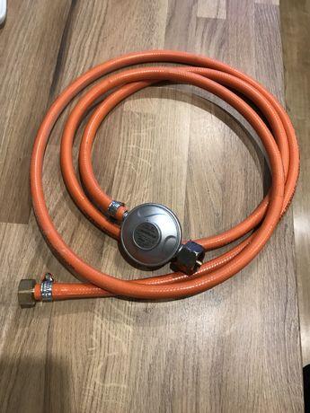 Wąż do gazu propan-butan 2,6m + reduktor