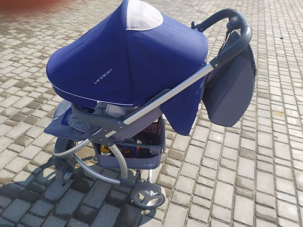 Легка і гнучка прогулянкова коляска EasyGo Virage для сучасних і вимог