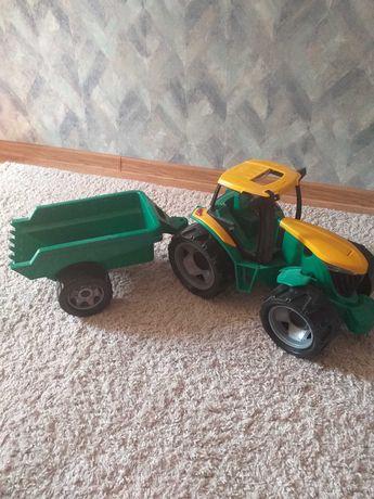 Продам детскую игрушку трактор с прицепом ,,ЛЕНА,,