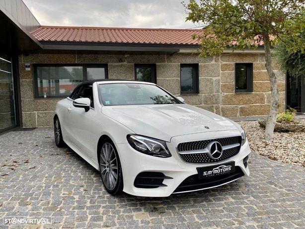 Mercedes-Benz E 220 D CABRIO AMG LINE