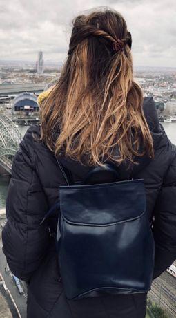 Классный рюкзак с эко-кожи