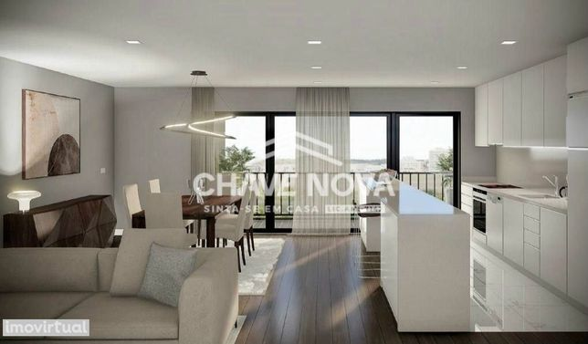 Apartamento T-1 c/ Varanda Novo - Esmoriz