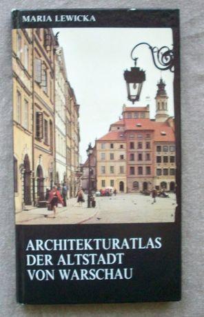 Architekturatlas der Altstadt von Warschau, Atlas arch. Warszawy.