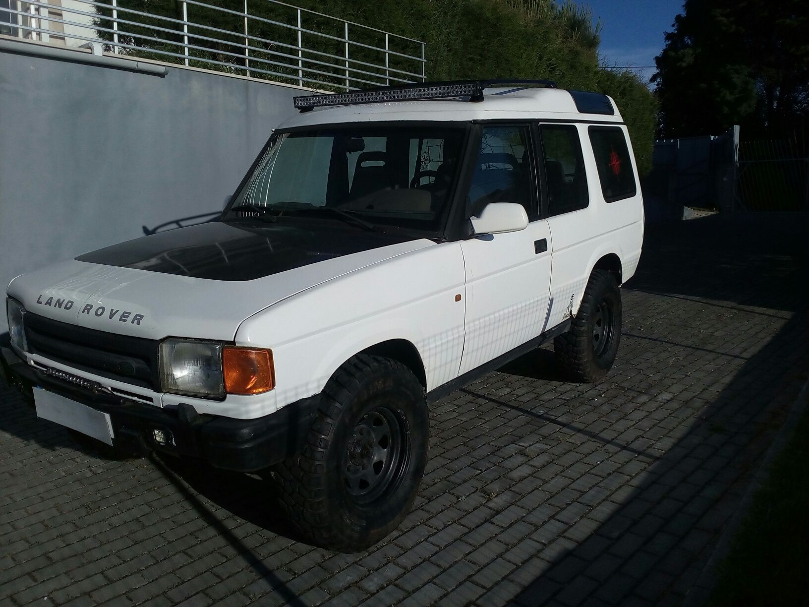 Land Rover DISCOVERY 300 tdi EXTRAS