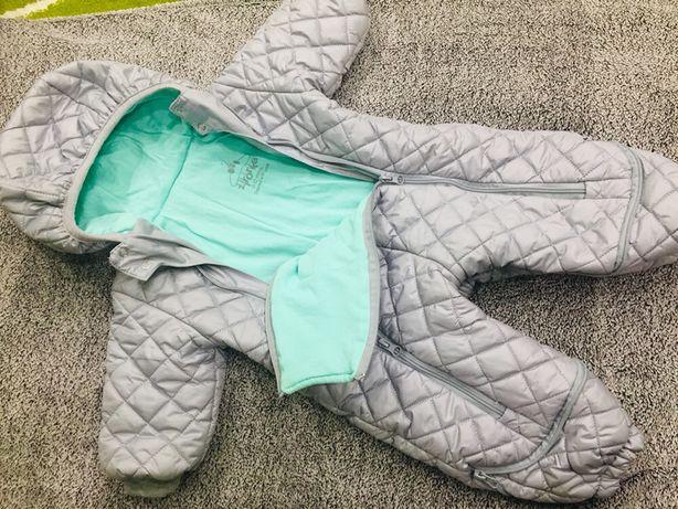 Речі «пакетом» для дівчинки 6-9м.,Ромпер,Куртка 6-9м.,Комбінезон 0-1р.