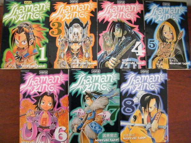 Manga Shaman King, 7 Volumes (em FRANCÊS)