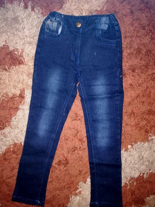 Spodenki r. 110 jeansy Legionowo - image 1