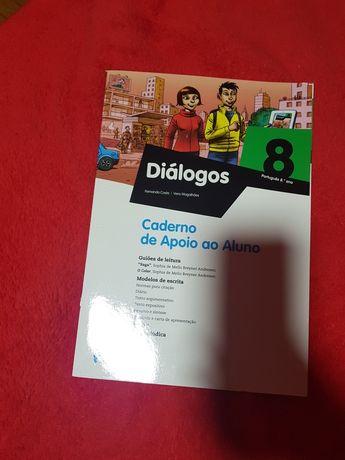 Caderno de atividades Diálogos
